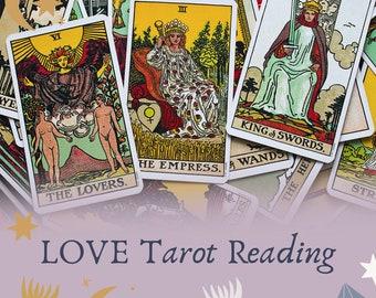 Love Tarot Reading, Relationship Tarot Reading, Love Reading, Singles Tarot Reading,