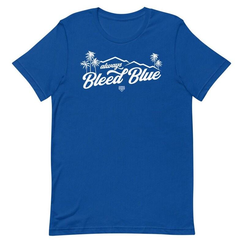 always Bleed Blue Short-Sleeve Unisex T-Shirt image 0
