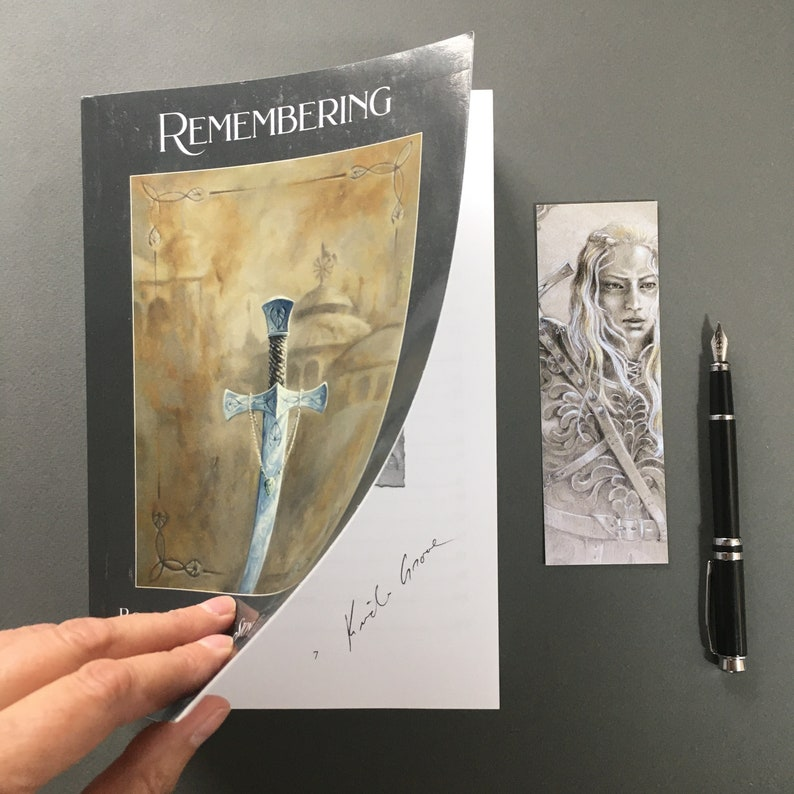 AUTHOR SIGNED & Personalized: Remembering Book Two of The image 0