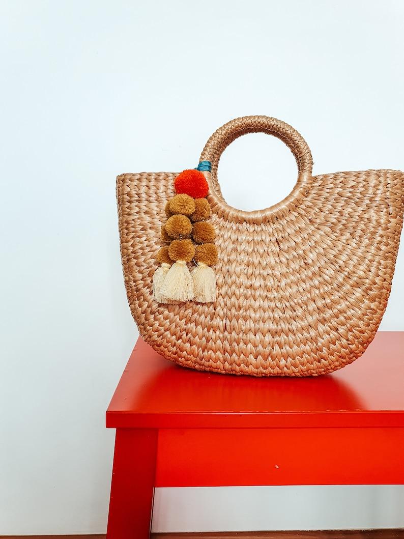Colorful Tassel Bag Charm
