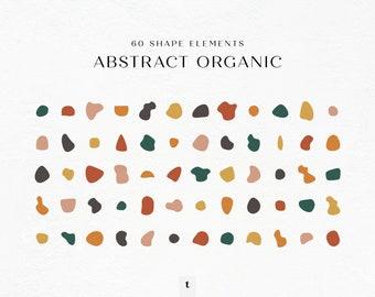 Abstract Modern Organic Shapes, Abstract Modern Line Art, Hand Drawn Shapes, Organic Shapes, Shapes SVG, Organic Shapes SVG Bundle