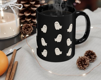 Halloween Mug, Ghost Coffee Cup, Spooky Season Must have!