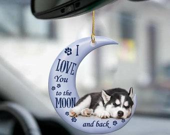 Vintage Slag Glass Piggy Bank Eskimo Igloo Siberian Husky Dog Porcelain Still Bank Alaskan Souvenir