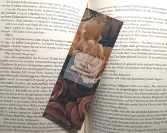 Bookmark - Haha, very funny! Can I continue reading now?