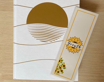 BOOKMARK - Growth - Sunflower - 250 gsm
