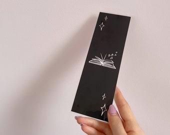 BOOKMARK - Book love - Black - 250 gsm