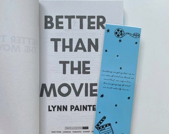 BOOKMARK - Better Than The Movies - Lynn Painter - 250 gsm