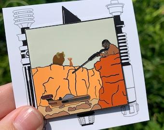 Tusken Raider Pin