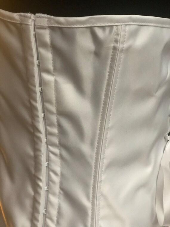 "32"" or 34""Vintage White Lace Corset - image 5"