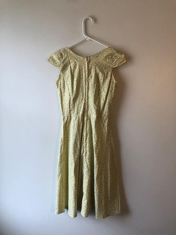 Vintage 1990s Handmade Cottagecore Dress - image 3
