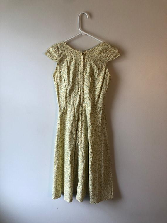Vintage 1990s Handmade Cottagecore Dress - image 4