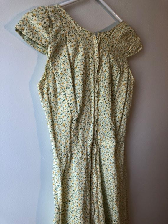 Vintage 1990s Handmade Cottagecore Dress - image 5