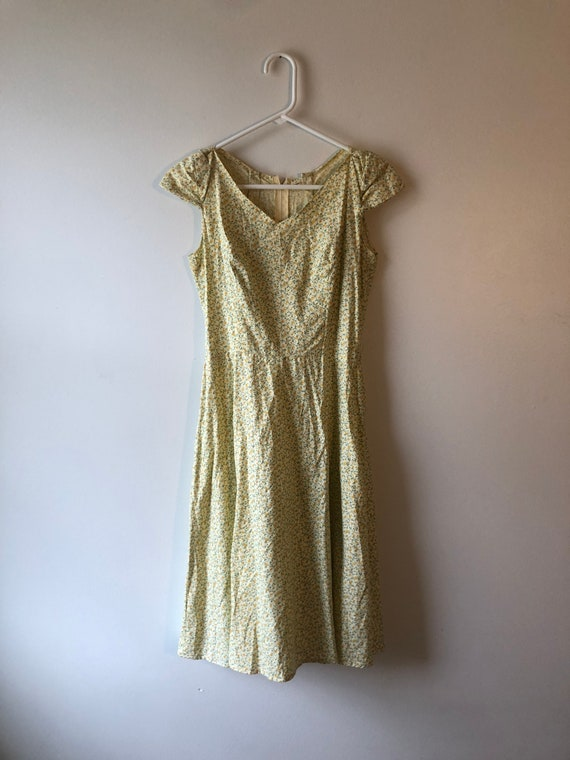 Vintage 1990s Handmade Cottagecore Dress - image 1
