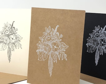 12 Assorted Floral Greeting Cards