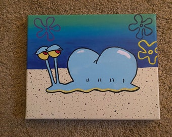Gary the Snail Painting