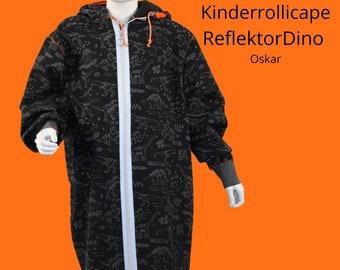 Rollicape, children's roller, wheelchair clothing, wheelchair fashion, wheelchair coat, handicap, adaptive fashion, child in wheelchair
