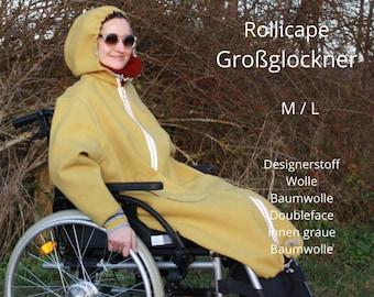 Rollicape, Wheelchair Clothing, Wheelchair Fashion, Wheelchair Coat, Handicap, Adaptive fashion, Wheelchair Outdoor Clothing, Disabled Clothing