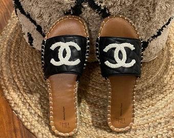 Designer Quilted Sandals