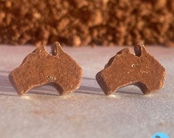 Red Dirt Earrings - Australia