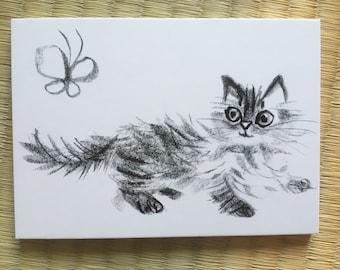 "Post Card ""Cat Music / Cat Songs"""