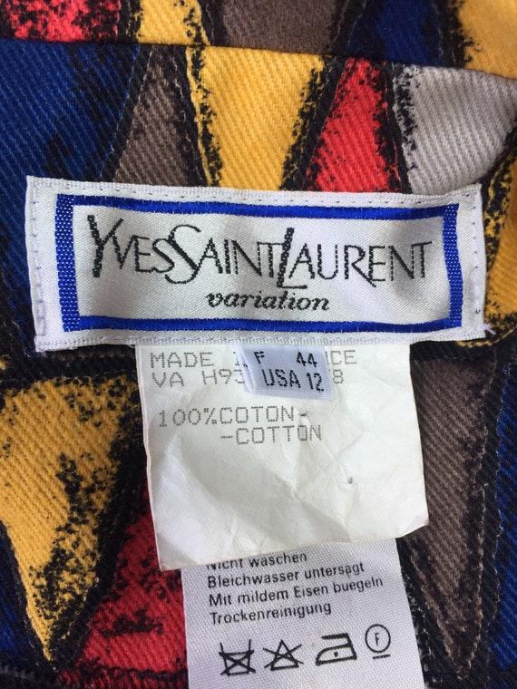Vintage YVES SAINT LAURENT jackets - image 10