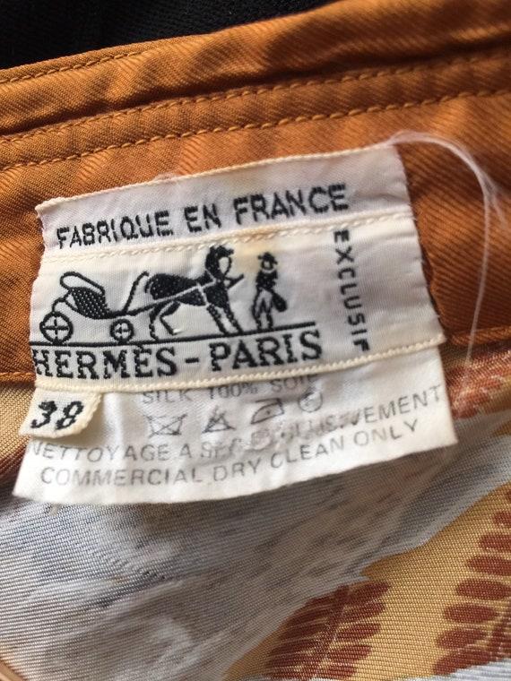 Vintage HERMÈS shirt - image 3