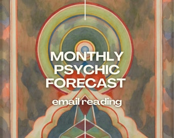 Monthly Psychic Forecast Email Reading