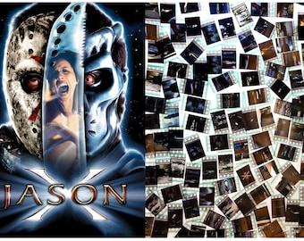 25x Genuine 35mm Clips - Friday the 13th Part 10 - Jason X (2001) 35mm Film Cell Movie Filmcell Pack
