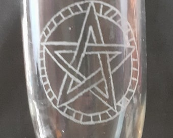 engraved chalice