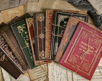 Vintage Paper Ephemera - Medieval Paper - Scrapbook Paper - Junk Journal Paper - Rustic Paper - Botanical Paper - Vintage Book Paper