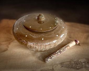 Can Ceramic Unicat Handmade Decoration