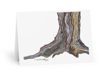 Foundation - Watercolour and Ink - Greeting Cards (5 Pack)