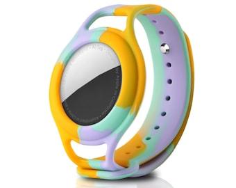 AirTag wristband for kids (Multi-Coloured)