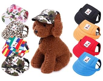Adjustable Dog Hat   Pet Hat   Summer Hat   Dog Cap   Canvas Hat
