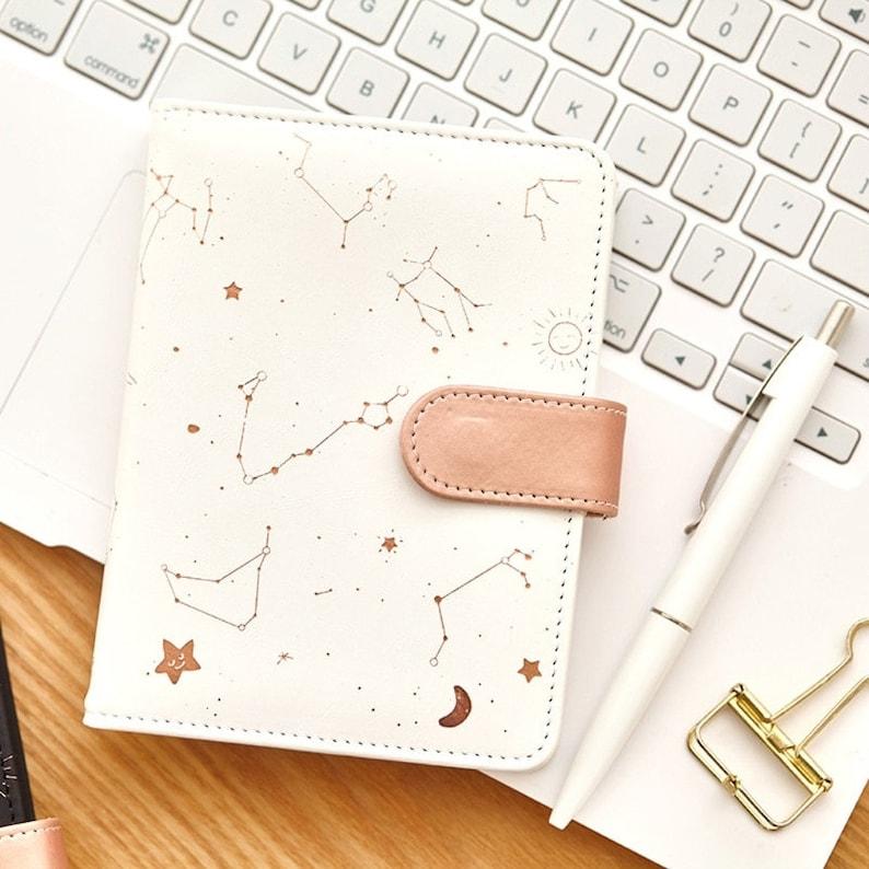 Star Celestial Constellation Hardcover Notebook Planner image 0
