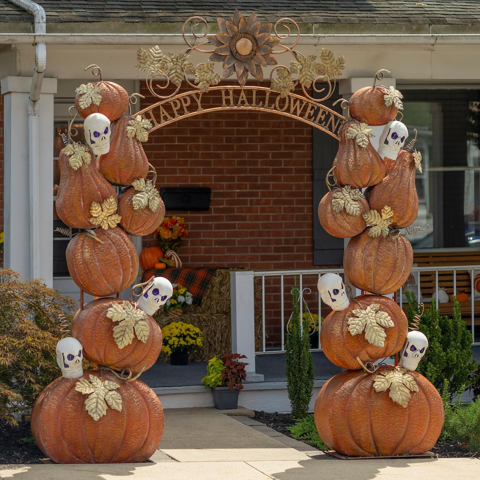 Halloween Iron Garden Arches by Zaer Ltd