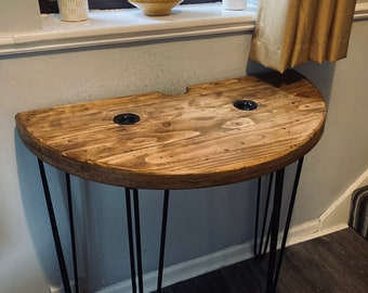 Rustic Handmade Console Table