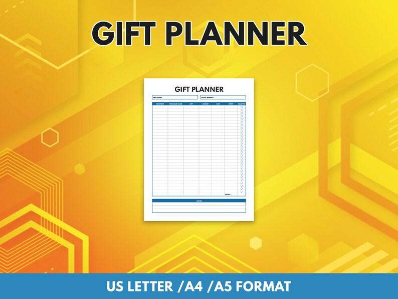 Gift Planner  Gift Tracker  Gift Planning image 0