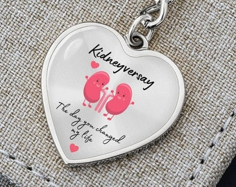 Live With a Thankful Heart Keychain