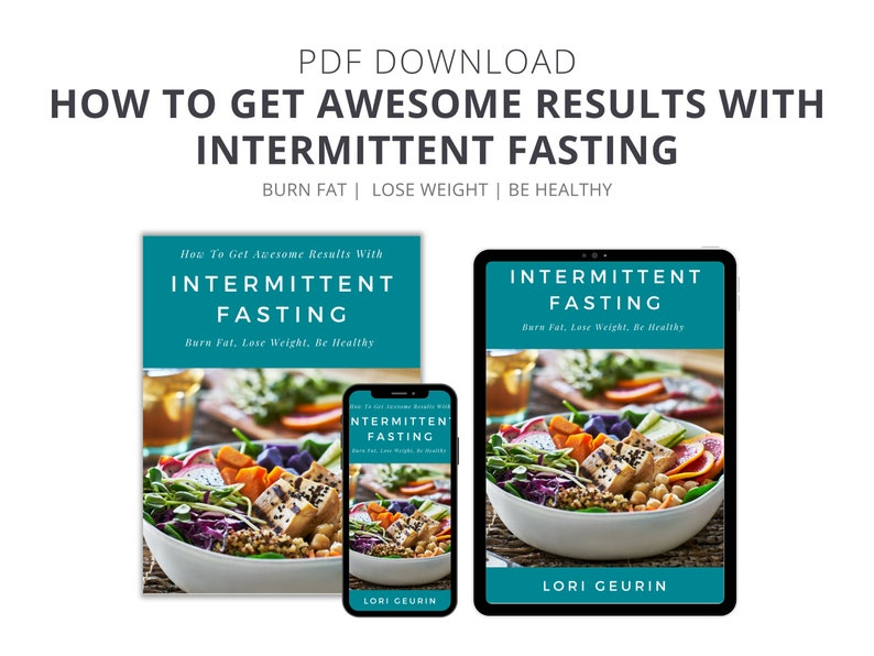 Intermittent Fasting eBook: Burn Fat Lose Weight Be Healthy image 0