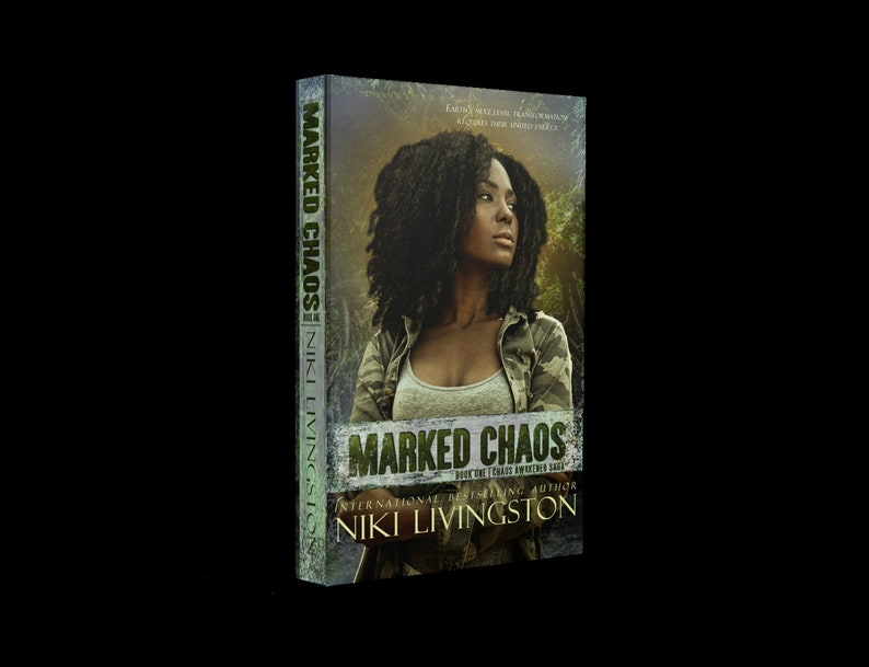 Marked Chaos: A Dystopian Fantasy Adventure  SIGNED COPY image 0