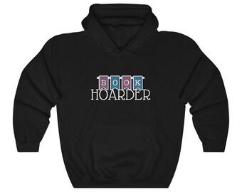 Book Hoarder Unisex Heavy Blend Hooded Sweatshirt