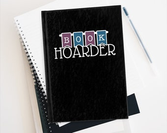 Book Hoarder Journal - Ruled Line