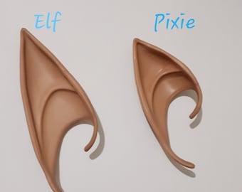 POC Elf Ears, Black Elf Ears, Fantasy Ears