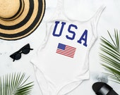 USA Swimsuit One-Piece Swimsuit USA bodysuit 4th of July Swimsuit Independence Day Swimsuit 4th of July swimwear women 39 s