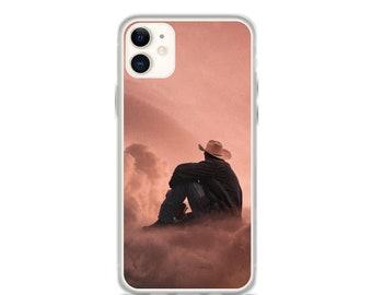 Cowboy Dream iPhone Case | Western Sci-Fi iPhone Case Featuring Celestial Cowboy