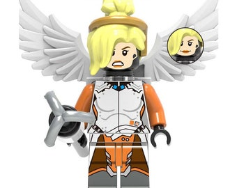 Mercy - Custom Overwatch Minifigure
