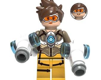 Tracer - Custom Overwatch Minifigure