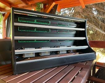 Uryan Modular 12U / 196HP black custom eurorack case