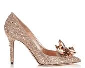 Cinderella Inspired Heels Gold